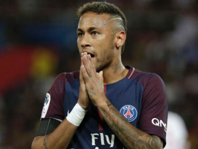 Neymar Jr chỉ trích trọng tài tại bóng đá Cup C1