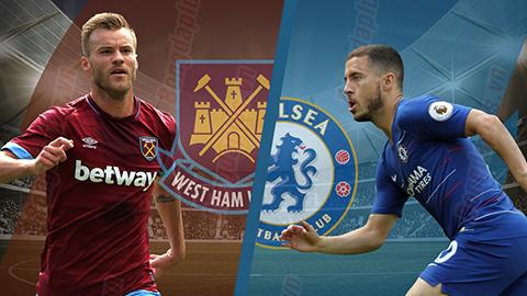 Truyền hình trực tiếp bóng đá Chelsea vs West Ham-tructiepbongdahd.net