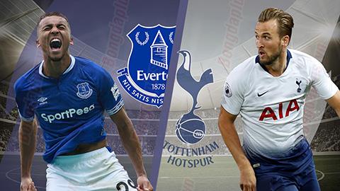 Trực tiếp bóng đá ngoại hạng Anh Tottenham vs Everton