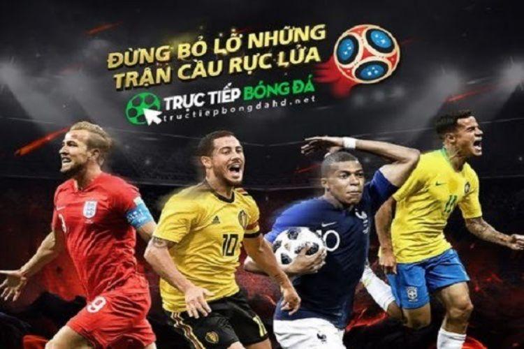 lịch trực tiếp truyền hình bóng đá
